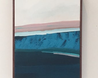 Abstract original seascape painting - Gaviota Coast