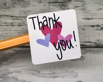 Thank You Stickers - Fun Maker Stickers - Package Stickers - Shipping Stickers - Small Business Stickers   Holiday Stickers