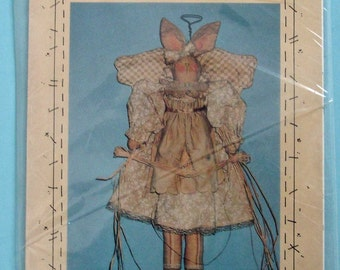 Sarah Angel Bunny Prairie Grove Peddler Pattern 105