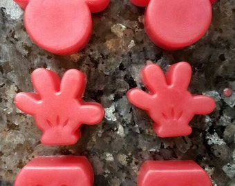 Mickey Mouse Soap  / Party Favor / Stocking Stuffer / Gift for Him / Geek Soap Set / Gift for Her / Birthday Party