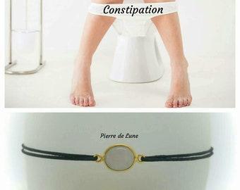 """For """"constipation"""" Bracelet: Moonstone"""