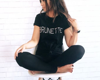 BLONDE | BRUNETTE t-shirt
