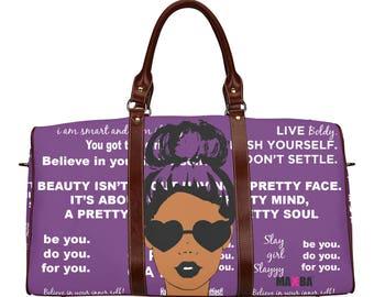 Shenese Purple Small Travel Bag