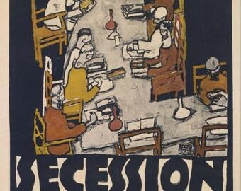 Egon Schiele: Secession 49. Fine Art Print/Poster. (003713)