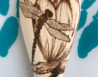 Dragonfly Wood Burn Spoon