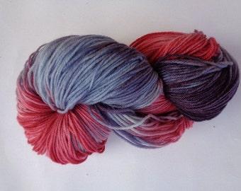 Hand Dyed Yarn, Gypsy - SW Merino/Nylon Fingering Wt.