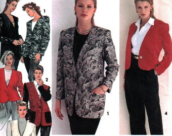 Simplicity Sewing Pattern 8622 Misses' Jacket   Size:  P  12-16  or  Y  22-20  Uncut
