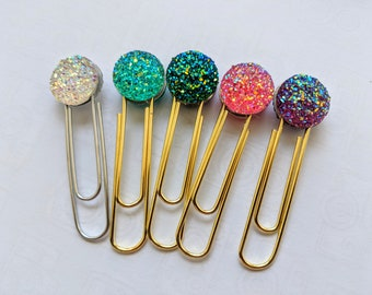 Planner Paper Clip / Paperclip / Crystal