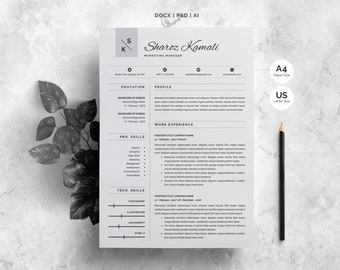 Resume | 4 Pages Pack