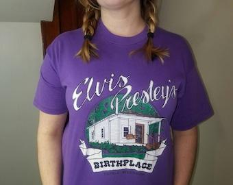 Vintage Elvis Presley Homeplace Tshirt Tupelo Mississippi
