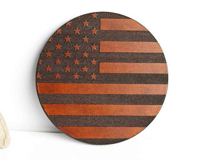 Army Retirement, Air Force Retirement, Navy Retirement, Police Retirement, Retired Military, American Flag, Leather Coasters, US Flag