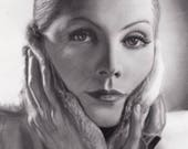 Greta Garbo - Portrait of...
