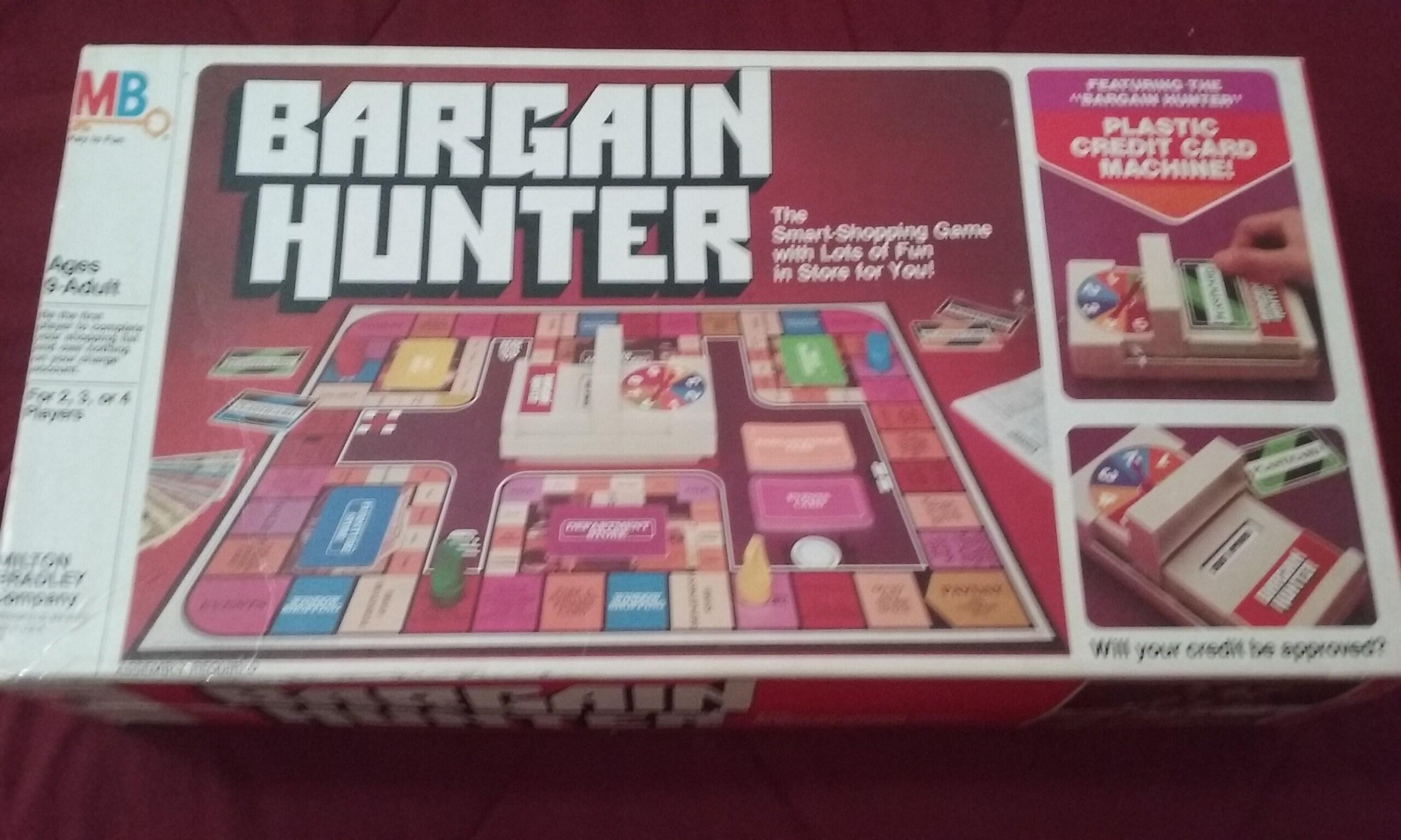 Description Vintage 1981 Milton Bradley Bargain