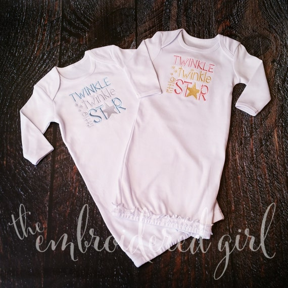 Baby Gown Newborn Coming Home Outfit Infant Gown Coming