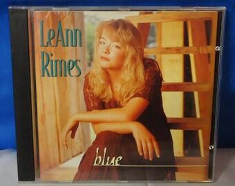 "051818 14 Used LeAnn Rimes ""Blue"" CD Curb D2-77821"