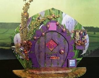 Yorkshire Faerie Door Indoor Fairy Garden - Crocus