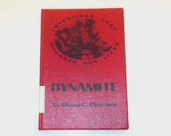 1980s reference book / 80s children's science book / Dynamite Hardcover Book