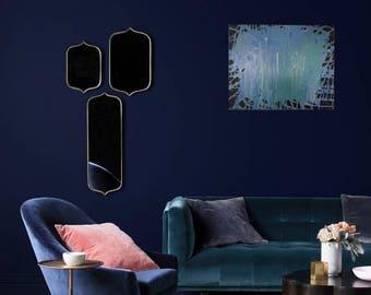 Into the Blue Painting, 16x20 Fluid Painting, Fluid Art, Original Art, Modern Art, Abstract Art, Home Decor, Wall Decor x ZC