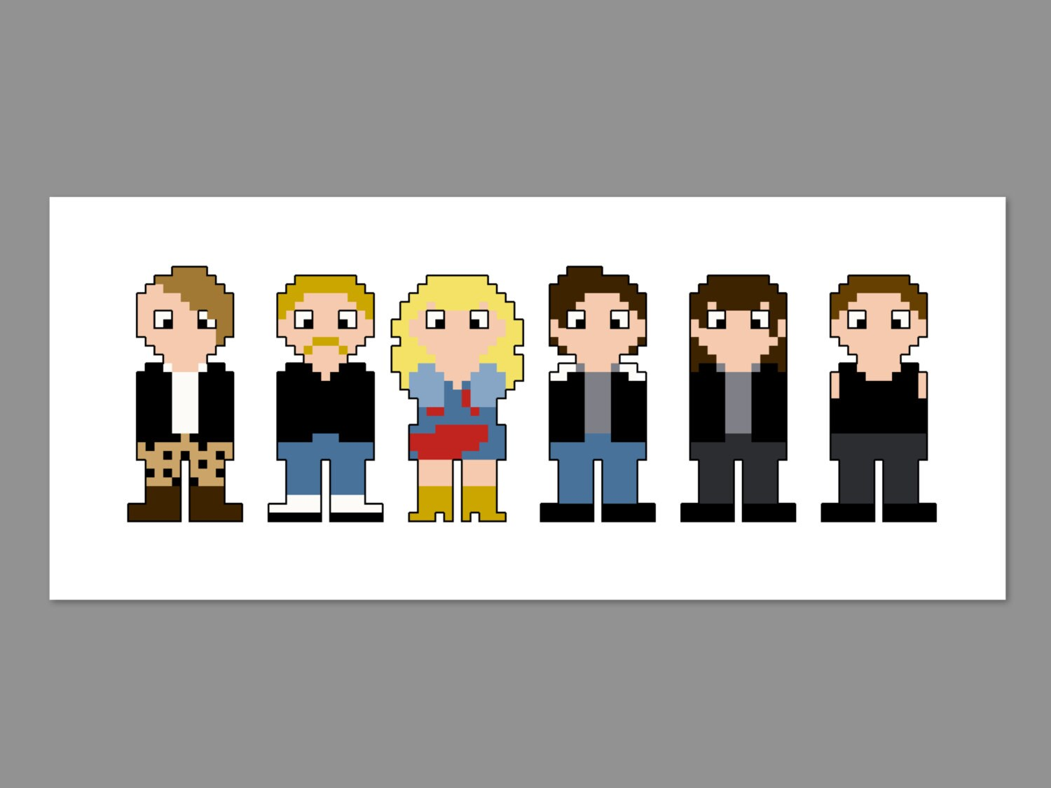 Hedwig and the angry inch pixel people cross stitch pattern zoom biocorpaavc