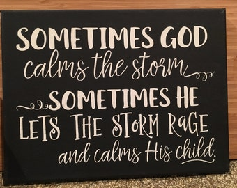 Storms of Life Canvas