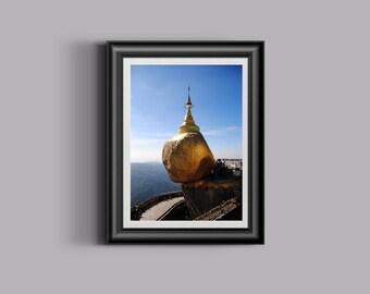 Boeddhistische foto etsy