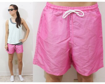 Vintage Retro Pink Summer Shorts
