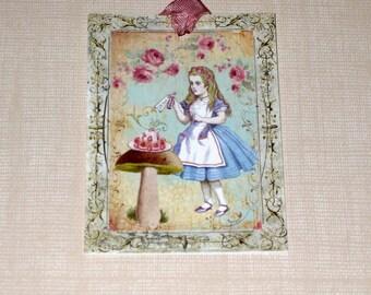 Alice in Wonderland Gift Tags ECS