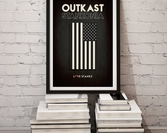 "Original Print Inspired by Outkast's ""Stankonia"""