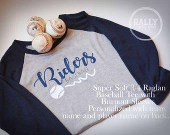 Customized Baseball Team Spirit Shirt
