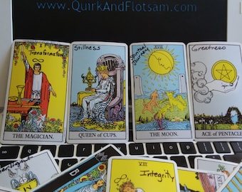 E-mail Modern Oracle Tarot Reading