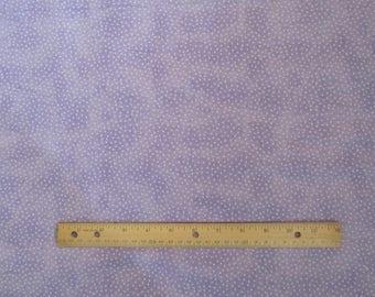 Purple Mini Polka Dot  Flannel Fabric  by the Yard