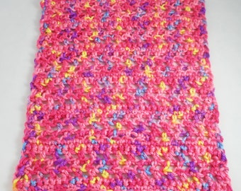 Crocheted afghan throw AFG15004 for Barbie, Monster High, Bratz
