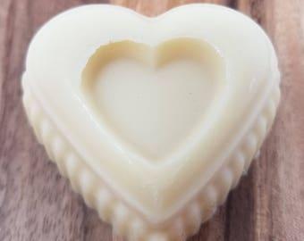 Cocoa Butter Massage Bar, Cocoa Butter Lotion Bar, Moisturizer, Muscle Rub, Couples Massage Bar, Moisturizing Lotion Bar, Heart Massage Bar