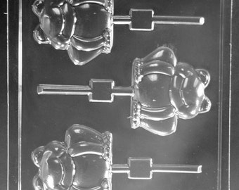 LOPA-136 - Frog Chocolate Lollipop Mold