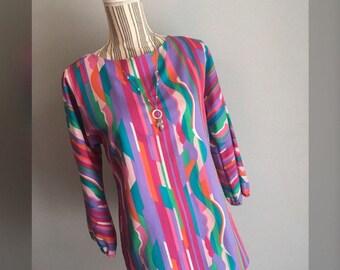 Vtg Sunny South Fashions Tunic