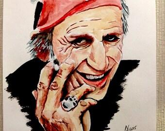 Your watercolor portrait (original)