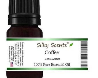 Coffee Essential Oil (Arabian Green Bean - Coffea Arabica) 100% Pure Therapeutic Grade