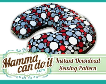 Nursing Pillow Cover Sewing Pattern - No Zipper