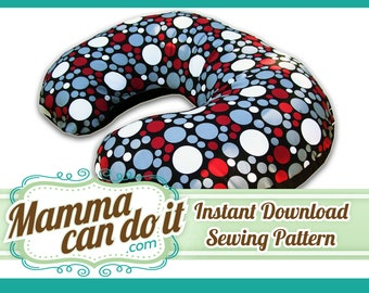 Boppy Pillow Cover Sewing Pattern - Instant Download