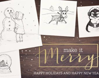 Holiday Greeting Card (5-pk)