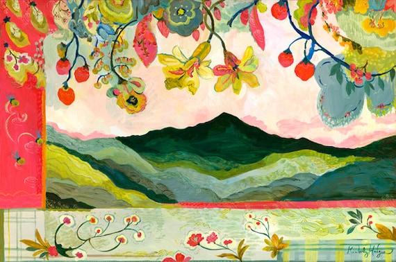 Mt. Pisgah Giclee Canvas Print, 16 x 24, 24 x 36