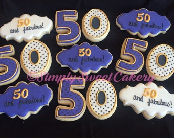 50 and Fabulous Cookies