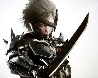 MGR Raiden Armor - Pepakura