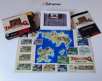 Treasure Hunter G - NTSC - Complete in Box SNES Reproduction