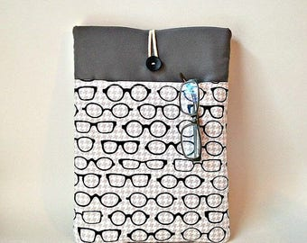 Eyeglass MacBook Air Sleeve, MacBook Air 13 Case, MacBook Air 13 Sleeve, MacBook Air Bag,  MacBook Pro 13 Case, Optometrist Optometry Laptop
