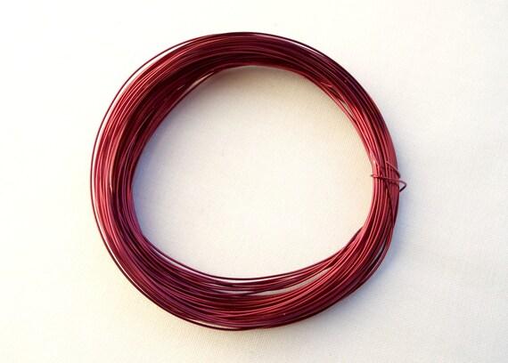 Rote Kupferdraht 15 Meter Spule dunkle rote Draht 05 mm