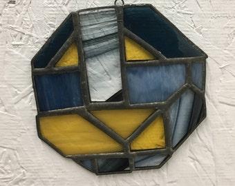 Octagonal Stained Glass Sun Catcher