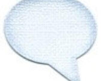 Speech Bubble Die Cuts