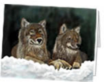 Wolf Mate Note card