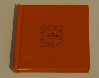 "Rare First Edition 1998  ""Hermés Paris Carré"" book"